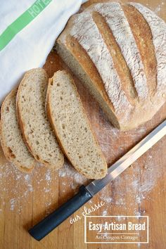An easy artisan bread anyone can make - never pay $5 for a loaf again!