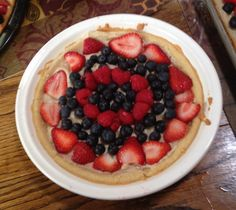 4th Of July Fruit Pizzas Are Delicious Fun!