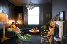 Home tour: vintage chlque em Londres