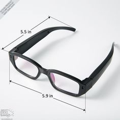 4ec09942b243 Mini HD 720P Spy Camera Glasses - Great for Gathering Evidence