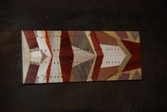 cribbage board  laminated wood by mstimps on Etsy, $45.00