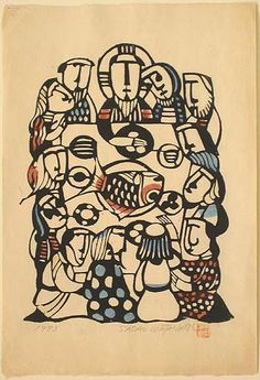 The Last Supper, Sadao Watanabe, Japan