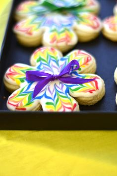 Crayon Party Cookies