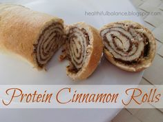 @Heather Lee Bradbury Protein Cinnamon Rolls ~ High in protein & fiber, low in calories and carbs.