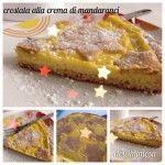 Crostata alla crema di mandaranci - versione light http://blog.giallozafferano.it/dolcimimosa/crostata-crema-mandaranci-versione-light/