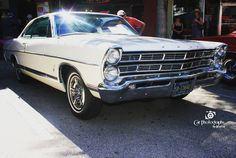 """For 1967 the7 Litremodel no longer carried the Galaxie name; it was to be the last year of it being separately identified. That identification was mainly trim such as horn ring and dashboard markings as well as the """"Q"""" in theVehicle Identification Number. The 7 Litre for 1967 was a trim and performance option on theFord XL which was now a separate model as well.[2]Little else changed except for trim and the styling; the same engines were available from the 240 cu. inch six-cylinder to the…"""