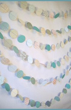 Another way to shake-up the traditional bunting!! What do you think? @Andrea / FICTILIS Russett