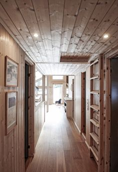 Wood Interiors, Flooring, Living Room, Inspiration, Furniture, Cottage Ideas, Design, Ceilings, Home Decor