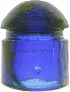 Antique Glass, Rare Antique, Glass Insulators, No Name, Colored Glass, Cobalt Blue, Insulation, Bottles, Collections