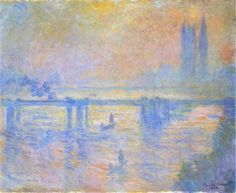 Charing Cross Bridge by Claude Monet, c1902