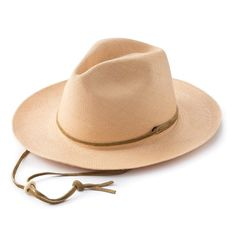 Story  Stylish protection from the sun, built for adventure  Pantropic makes a range of hand-woven and finished hats made from high-quality materials with the utmost craftsmanship. The Explorer hat is made for adventures in the outdoors, with a wide brim that protects from the sun and a chin strap that keeps it securely on your head.  Features   Made from genuine Panama straw Wide brim protects from the sun Leather chin strap with adjustable slider keeps the hat securely in place Lightweight…