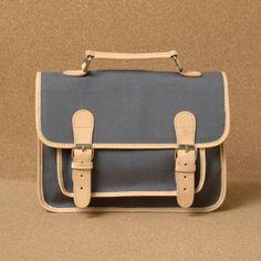 Canvas satchel - Fanny & Alexander