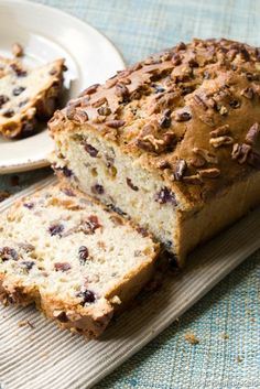banana pecan nut bread
