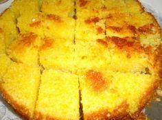 Receita de Bolo de Abóbora e Coco Sweet Recipes, Cake Recipes, Vegan Recipes, Cooking Recipes, Pasta, Cornbread, Cupcake Cakes, Cupcakes, Deserts
