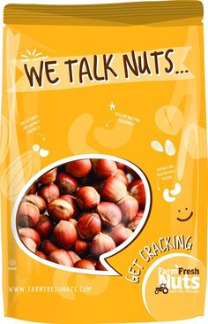 Natural In Shell Filberts/Hazelnuts BRAND NEW PRODUCT by Farm Fresh Nuts (4 LB) -- See this great product.
