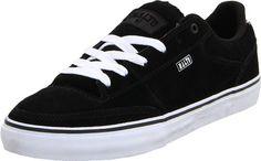 Etnies Men`s Malto Vulcanized Skate Shoe, Black/White, 12