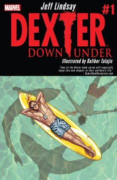 Dexter Down Under by Jeff Lindsay / graphic novel book review