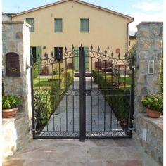 Wrought Iron Pedestrian Gate. Customize Realisations. 066 Pedestrian, Wrought Iron, Most Beautiful, Applique, World, Gates, Furniture, Design, Home Decor