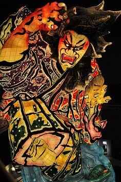 The giant float for Nebuta matsuri festival, Japan Matsuri Festival, Japanese Lifestyle, All About Japan, Japanese Festival, World Festival, Aomori, Turning Japanese, Festivals Around The World, Japanese Culture
