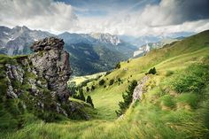 https://flic.kr/p/pyDPgH | Val San Nicolo | A view from Sass Bianch Roseal into the lovely Val San Nicolo, a tributary valley of Val di Fassa.