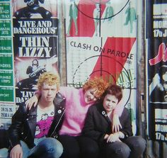 Some Glasgow Punks in London 1978