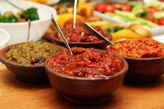 Vegetarische und vegane Saucen, Dips und Brotaufstriche