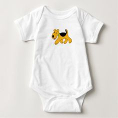 Airedale Terrier Puppy Dog Trotting Baby Bodysuit - baby gifts child new born gift idea diy cyo special unique design