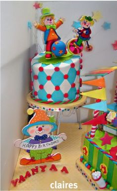 Circus Cakes Clowns  Cake Delivery In Gurgaon