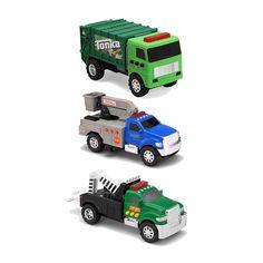Tonka 3-Pack Vehicles - Tow Truck, Cherry Picker & Garbage Truck $39.99  #BestPrice