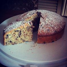 An Italian cake recipe that I picked up in Rome. I hadn't associated Italy with hazelnuts, but there are a delicious ingredients in this cake. New Recipes, Cake Recipes, Italian Cake, Hazelnut Cake, No Bake Cake, Banana Bread, Rome, Printer, Bakery