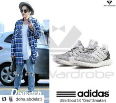 "#Repost @doha.abdelati with @repostapp ・・・ [170412 AIRPORT] ADIDAS Ultra Boost 3.0 ""Oreo"" Sneakers. P.S : PLEASE DON'T CUT OR EDIT THE LOGO. SHARE THE PICTURES WITH FULL CREDITS. #asiaprince #jangkeunsuk #장근석 #apj #apj_jks #jks #asiaprincejks #jks_wardrobe #treej #zikzin #adidas #ultraboost #awesomeneeds #airport #airportfashion #instadaily #fashiondaily #fashion #style #instafashion #instastyle #kfashion #kstyle #menfashion #menstyle画像お借りしました(#^.^#)。ありがとうございます��…"