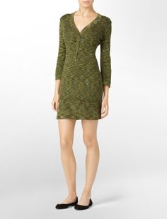 Calvin Klein pullover sweater dress.. I love this color :)