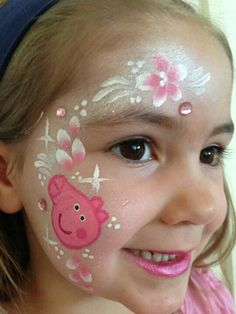 Want a face painter at grace's 2nd birthday :) peppa pig themed of course  Peppa pig face paint