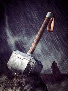 Thor's hammer and the inspiration behind the Master Chief's armor: Mjolnir!