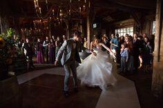 Reception, Spring Ranch barn, Mendocino © J.Perlman R.Lutge Photography