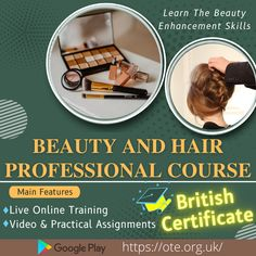 Beautician Course, Home Hair Salons, Beauty Courses, Training Certificate, Beauty Industry, Watch Video, Homemaking, Teenagers, Career