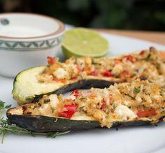 Gegrillte Zucchini mit Quinoa-Schafskäse-Füllung - Frischer vegetarischer Grillgenuss mit viel Aroma