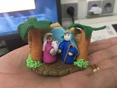 Bonecas do 1069,  Mini presépio em fimo