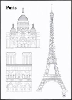 Studio Esinam - Paris Landmarks   Immy + Indi
