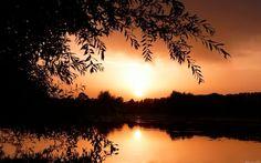 Fonds d'écran Nature > Fonds d'écran Couchers et levers de Soleil Wallpaper N°330767 par sandrine39 - Hebus.com