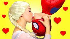Spider-Man and Elsa.............