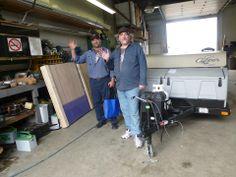 Congrats to Stephen & Steve.  Enjoy your new Clipper 1285SST Tent Trailer by Coachmen Industries