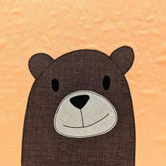 So many cute bears! Make a cuddly bear quilt in your favorite colors! The pattern includes templates for thirteen adorable bears. Owl Templates, Applique Templates, Applique Patterns, Applique Quilts, Applique Designs, Quilt Pattern, Applique Ideas, Paper Butterflies, Butterfly Cards