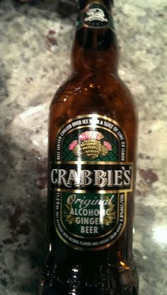 Crabbie's alcholic ginger beer