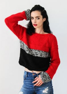 Best Friend Cropped Sweater | We Are Knitters