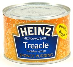 Heinz Treacle Sponge Pudding - Wonderful if you don't want to make it yourself. Treacle Sponge Pudding, Sponge Pudding Recipe, Pudding Recipes, Heinz Recipe, Great British Food, Digestive Biscuits, Cottage Pie, Food Icons