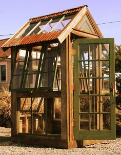 Bob Bowling Rustic - reclaimed greenhouse