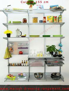 1000 images about cuisine elfa on pinterest dressing cuisine and decoration - Maison dressing rangement ...