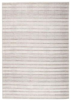 A new eye catching stripe patterned rug from our luxurious Vienna range: Vienna 2359 Hand Loomed Grey Taupe Stripe Patterned Wool and Viscose Modern Rug Modern Rugs, Modern Decor, Flokati Rugs, Wool Area Rugs, Wool Rugs, Loom, Taupe, Hand Weaving, Pattern