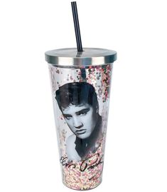 Elvis Presley Glitter Cup with Straw by Spoontiques Gift For Music Lover, Music Lovers, Cup With Straw, Glitter Cups, Stay Hydrated, Elvis Presley, Your Favorite, Rock And Roll, Musicals